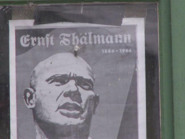 Schade das es Ihn nicht Heute Gibt Art Belgern Close-up Day Ernst Thälmann Information Kommonist Sozialismuß Super Mensch