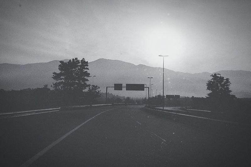 Journey to the unknow space Bnw Road Blackandwhite EyeEm Malaysia EyeEm Nature Lover Phoneography Inside Carin