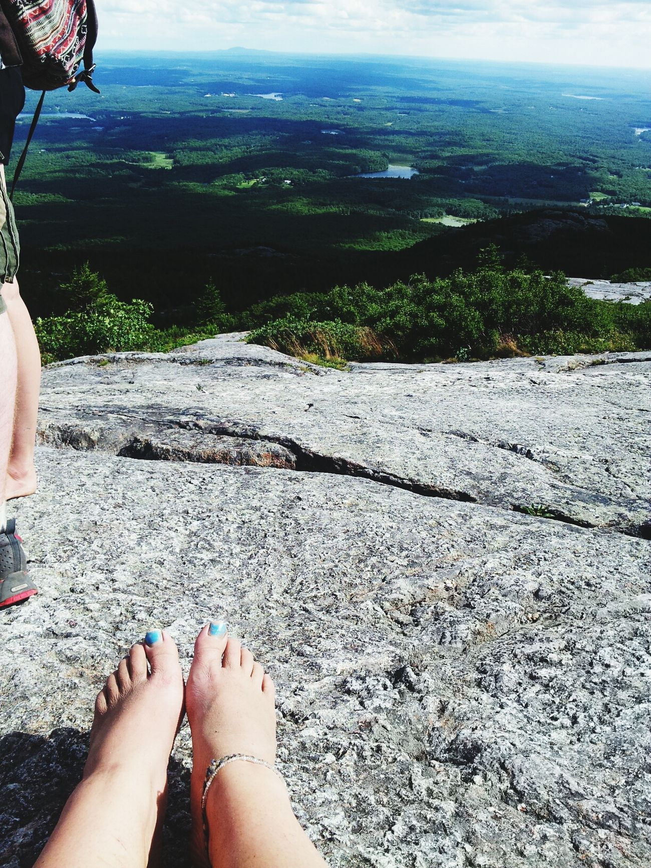 Hiked a mountain barefoot. Connected With Nature Wonder The Beauty Of Nature Camp Squanto