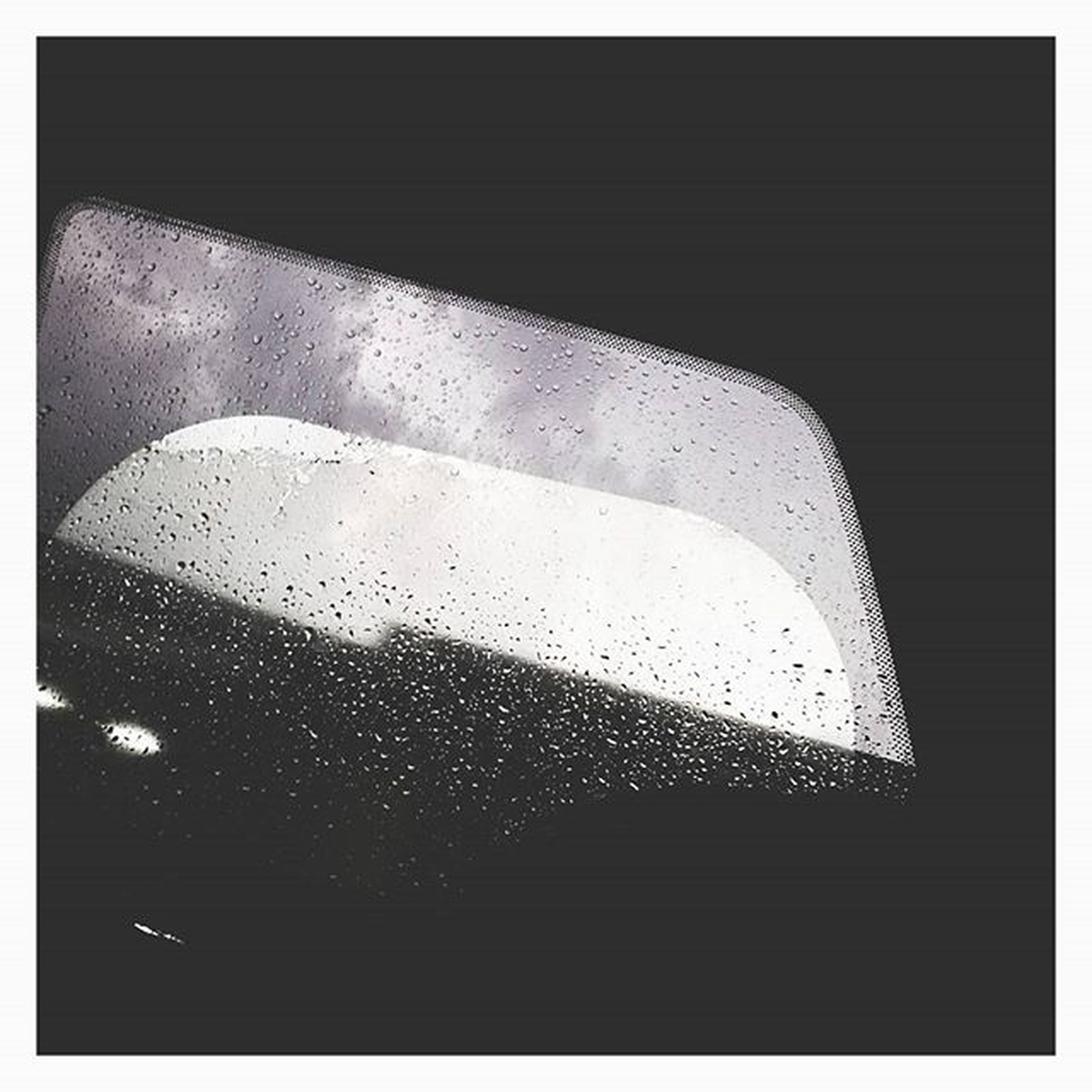 transfer print, window, indoors, glass - material, transparent, auto post production filter, transportation, glass, wet, drop, rain, car, mode of transport, vehicle interior, close-up, water, sky, land vehicle, looking through window, no people
