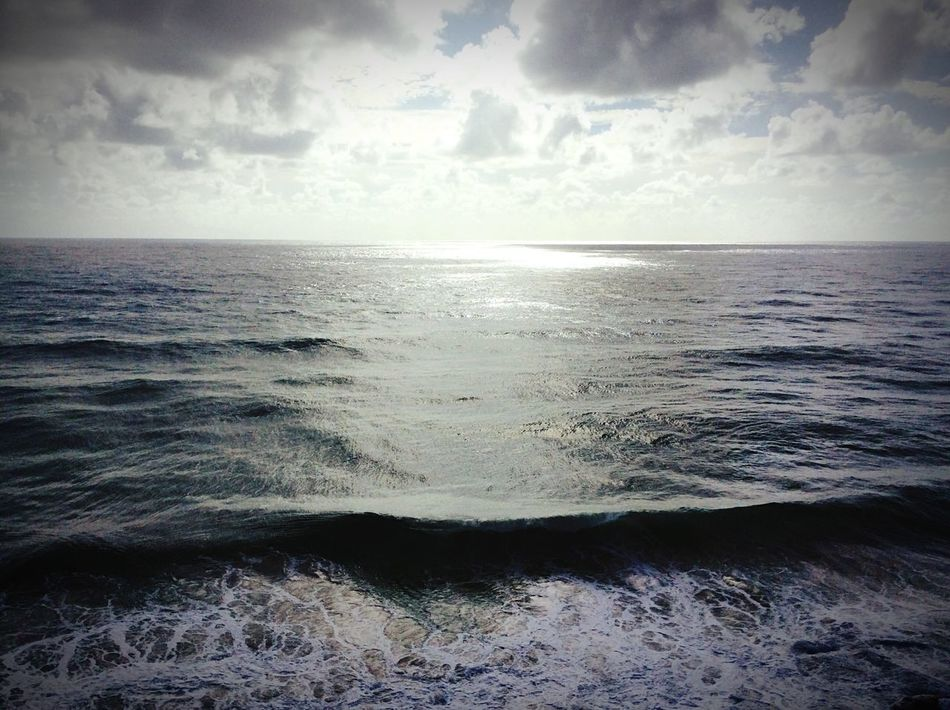 Swell Waves, Ocean, Nature Waves Crashing Waves And Rocks Big Clouds Dramatic Sky Colour Photography Documenrary Photography Seascape Skyscape Sunset #sun #clouds #skylovers #sky #nature #beautifulinnature #naturalbeauty #photography #landscape Sky And Clouds