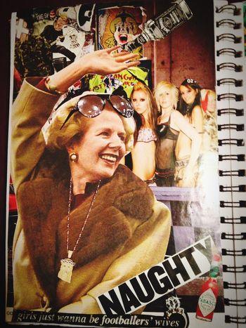 MyArt MargaretThatcher Party Time