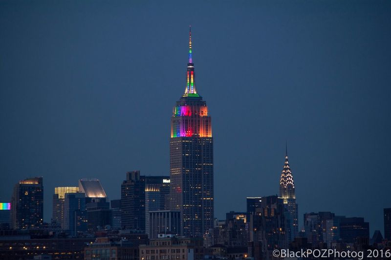 Check This Out Nikon D7100 Nikon Empirestatebuilding Lovewins NYCPride2016 Gaypride