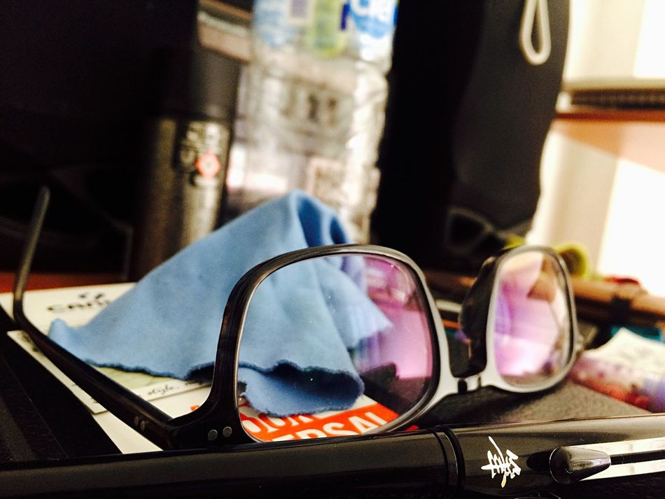 Working Sunglasses Indoors  Reflection No People Eyeglasses  Eyewear Close-up Day Eyesight Ink Inktober Days  Hello World Sketching Painting