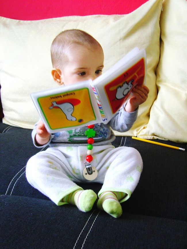 Reading Reading A Book Book Baby Babybook Animals Upside Down My First Book Pictures Picoftheday
