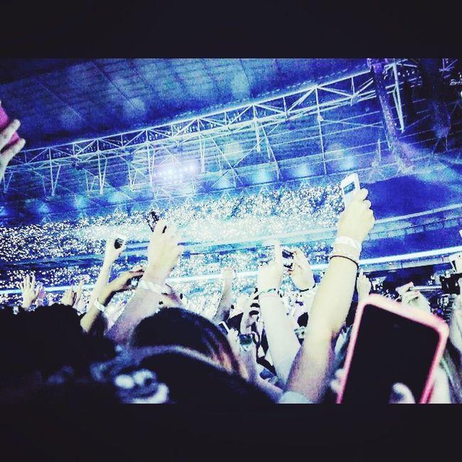 Ed Sheeran at Wembley 11th July Edsheeran Edsheeranconcert Concert Photography Proud NotBad Moments Amazing Great Performance Great Atmosphere