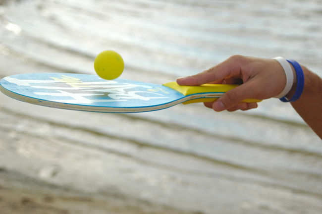 sunny afternoons of beach game Game Beach Sports Photography Water Freezing Sun Summer Afternoon Hand
