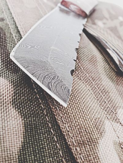 Tanti blade damascus steel