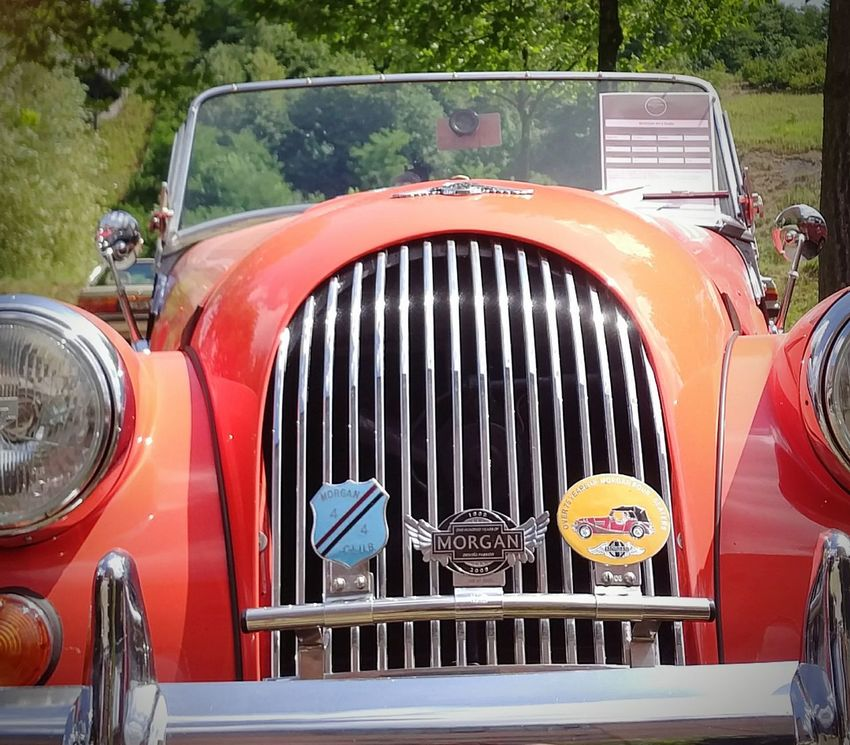 Mode Of Transport Day Red Transportation Chrome Car Transportation Old-fashioned Retro Styled Youngtimer Oldtimertreffen Oldtimer Close-up Auto Morgan Car Morgan EyeEm Gallery Eyeem Market Outdoors Portrait Red Lifestyles