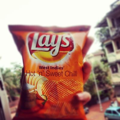 The best of all the lays :-) Chips Food I9003 India delicious