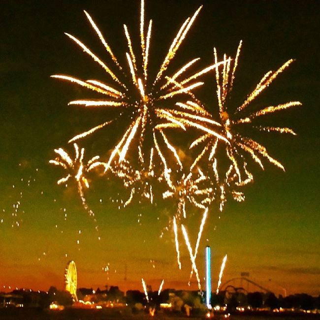 What a Firework Last Night. Düsseldorf I Love You !