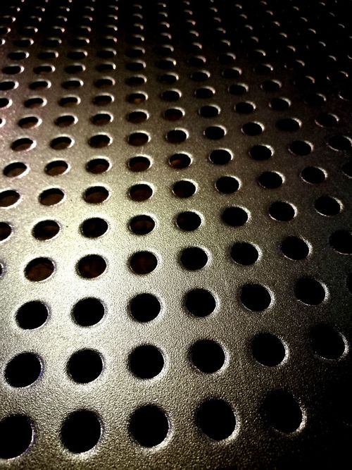 Pattern Textured  Full Frame Hole Metal Grate Backgrounds Repetition Geometric Shape No People Circle Part Of Abstract Metal Seat