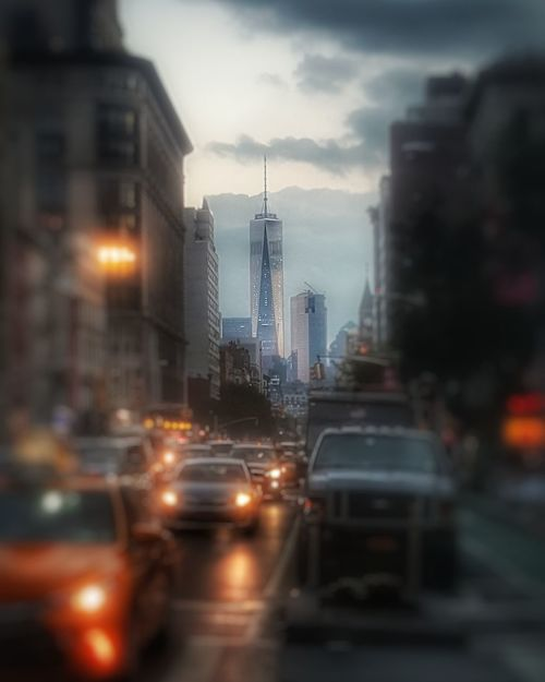 My favorite view, The Freedom Tower.