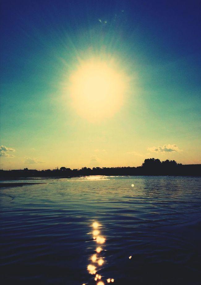 Swimming Sunbathing