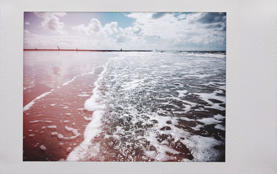 The Sea Sea Sky Nature No People Water Outdoors Day Beauty In Nature Polaroid Ocean Nordsee Norderney Norderney Ist Mein Hawaii