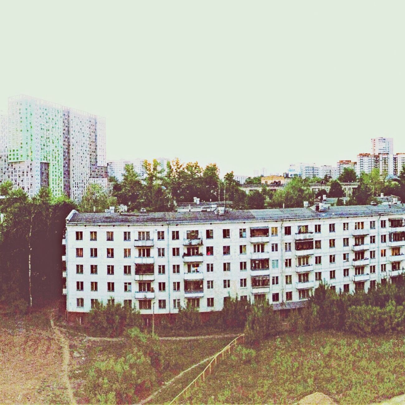 SZAO Street Moscow At Home Building