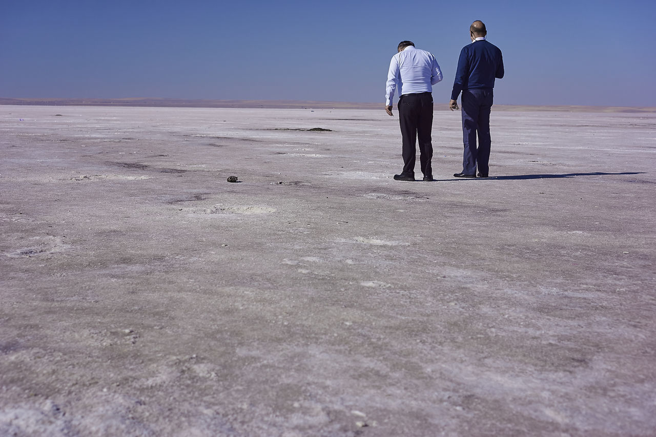 Adult Day Desert Men Only Men Outdoors People Teenager Togetherness Two People Young Adult Saltlife Saltflat White Ground White Desert Contemplating Restful Place