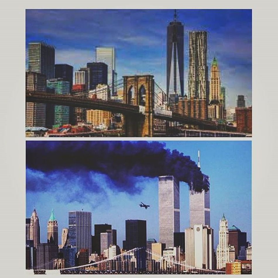 New York City: Back and Then. The City for the ones who never give up. 💗💪 14yearslater Thecitythatdoesntgiveup Neverbackdown OneLove Lovenyc NY NYC Newyorktoday
