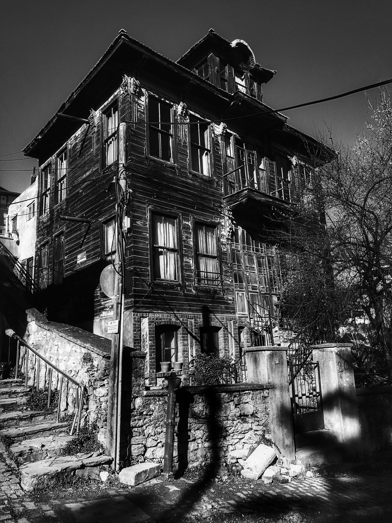 Railing Built Structure Architecture Sky Prison No People Day Outdoors Black And White Photography Black Background Istanbul Turkey Monocrome Monochrome Photography Beykoz, Turkey, Turkish, Istanbul, Asia, Asian, Middle East, Black Sea, River, Riva, Riva River, Water, Winter, Season