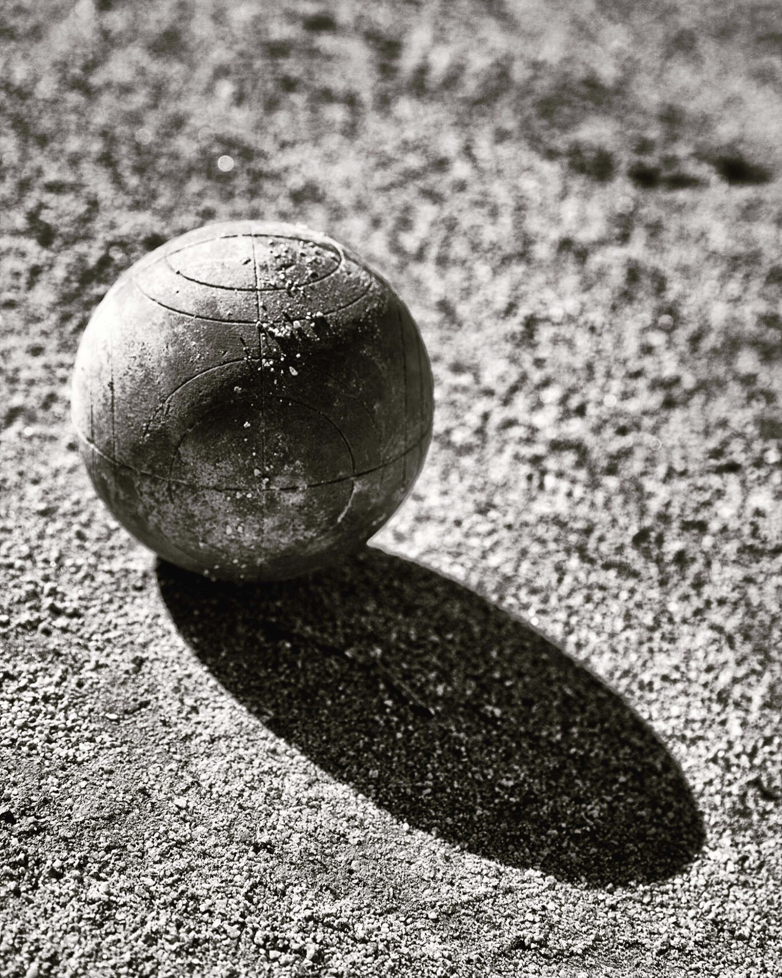 sphere, close-up, sunlight, shadow, day, no people, outdoors, ball, nature