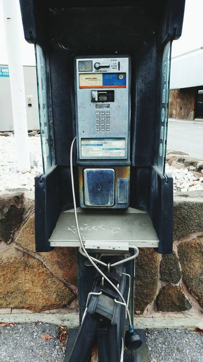 Hello? Is anyone there? Pick up? Built Structure Obsolete The Past Damaged Pay Phone Broken Phone Broken Technology Nostalgia Longevity Telephone Ancient History Smartphone Devolution