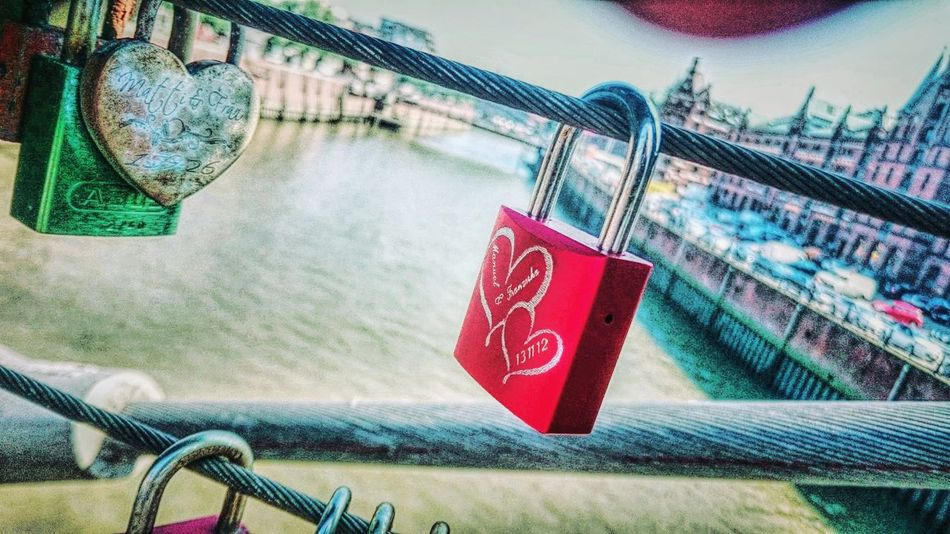 Architecture Close-up Lock No People Outdoors Sky Places And Spaces Feeling Blessed Walking Around Taking Pictures Tourist Tour EyeEm Best Shots Feeling Thankful Port Life Popular Photos Exceptional Photographs Eye4photography  Eternal Love Bridge Locksoflove