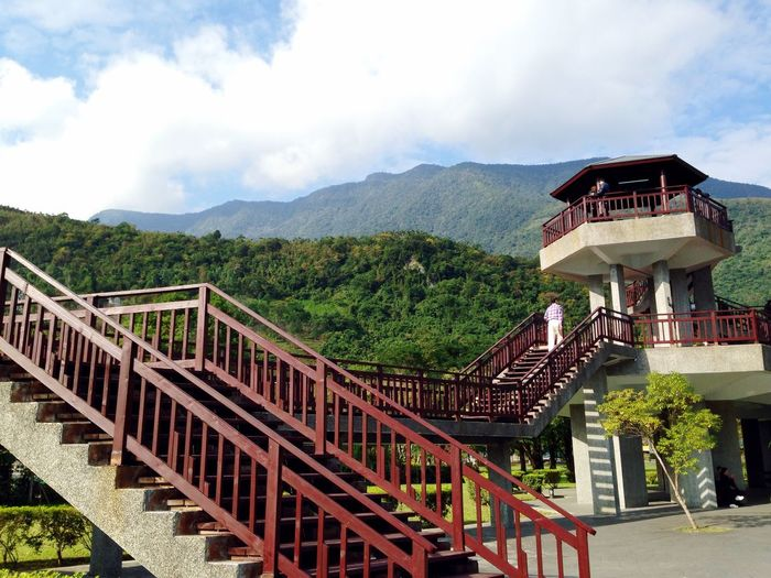 Lookout Landscape Clouds And Sky Mountain View Hualien, Taiwan The View And The Spirit Of Taiwan 台灣景 台灣情