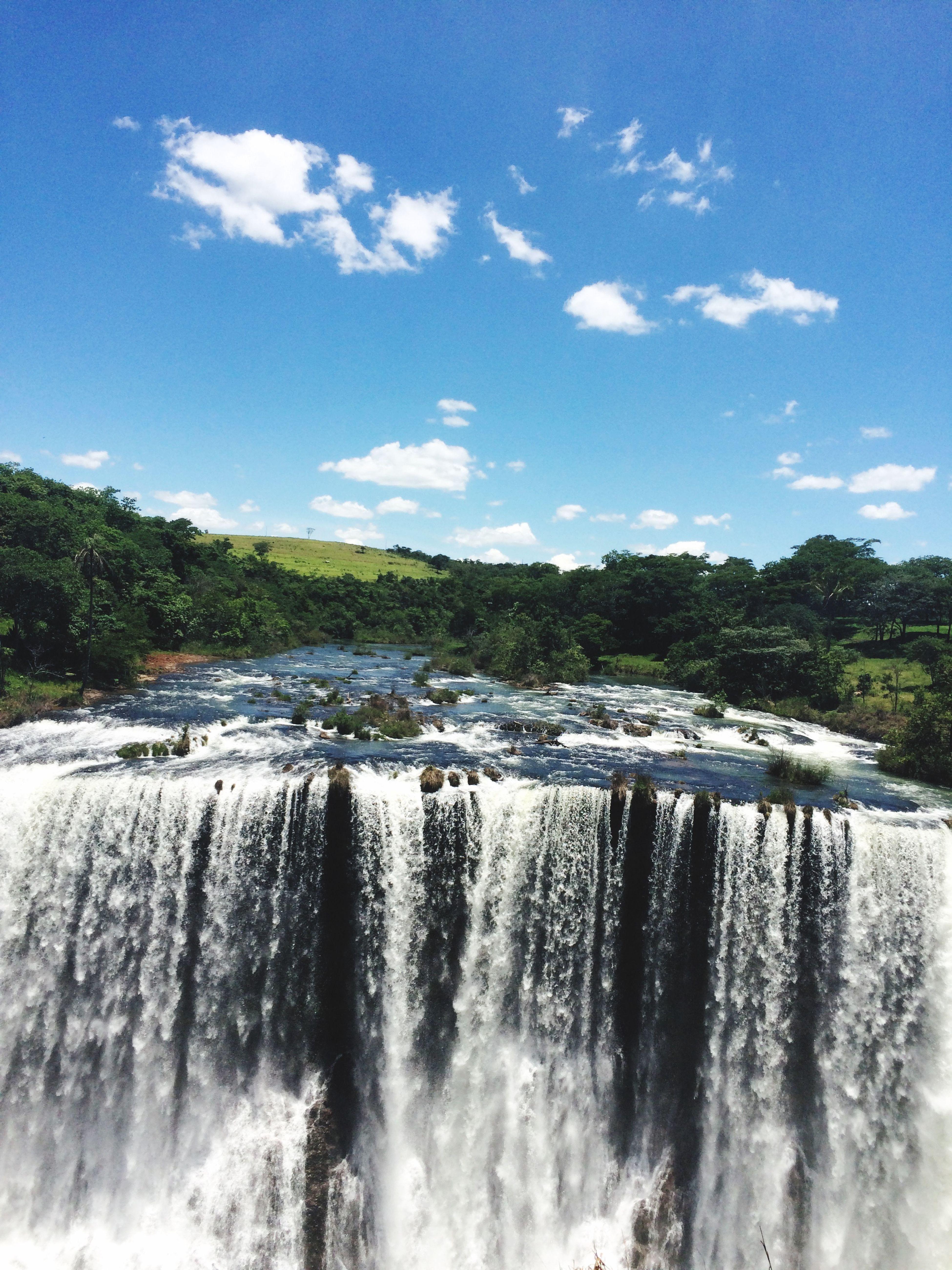 Waterfall Water River Nature Travel