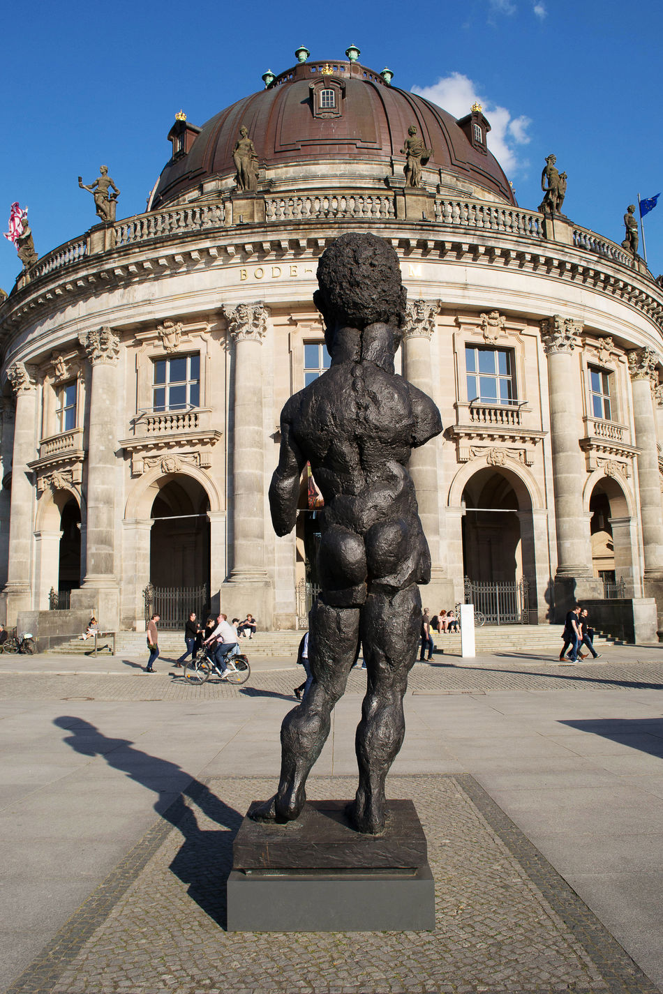 Bode Museum in Berlin. Architecture Berlin Bode Museum Building Exterior Built Structure City Day Germany History Outdoors Sculpture Statue