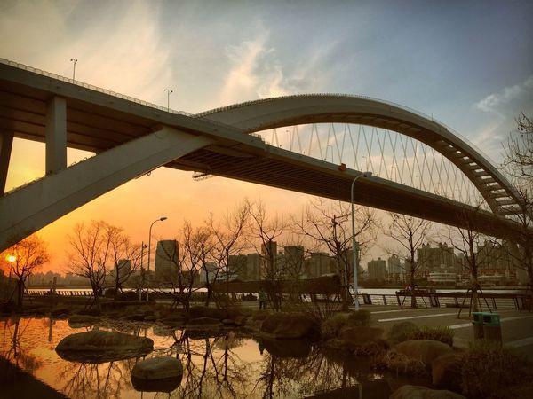 Sunset IPhoneography Bridge