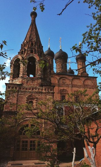 Beautiful Architecture of Russian Ortodox Church. Check This Out !