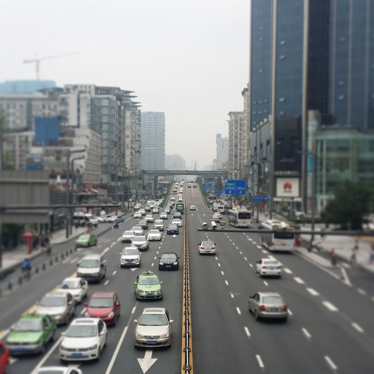 Fine Art Photography Chengdu China Traffic Chinese Highway Busy Streets Showcase July Battle Of The Cities
