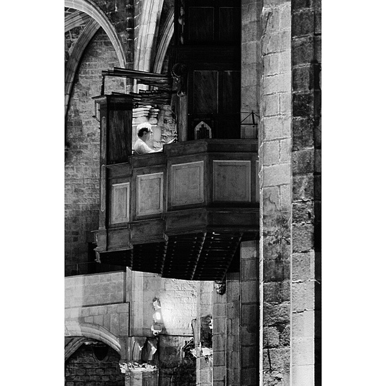Organista Catedral Ig_barcelona Blackandwhite blancoynegro bnw_spain bnw_universe