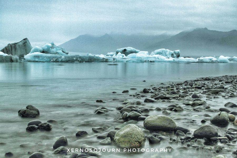 Iceland Jökulsárlón Glacier Lagoon Canon7d  Nature Landscape Beauty In Nature Frozen Long Exposure EyeEm EyeEm Best Shots Iceberg
