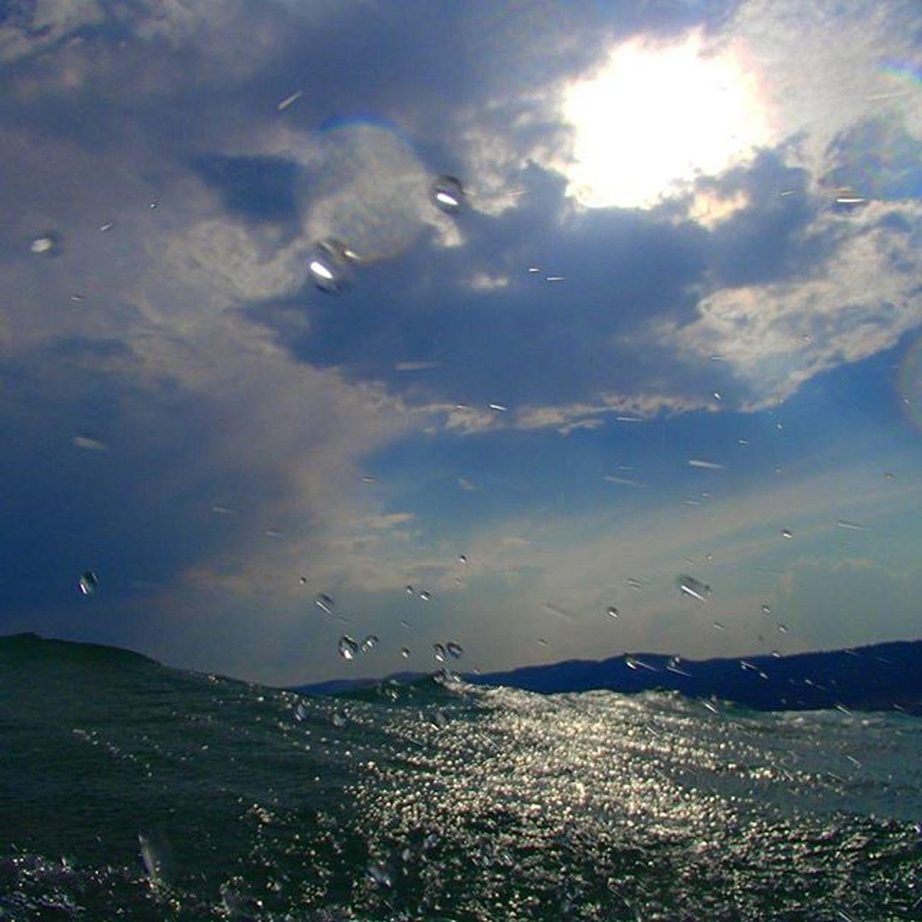Mersin Tasucu Taşucusahili Akdeniz Denizdenesentuzlumeltem Yazyağmuru Bulutlar Dalgalar