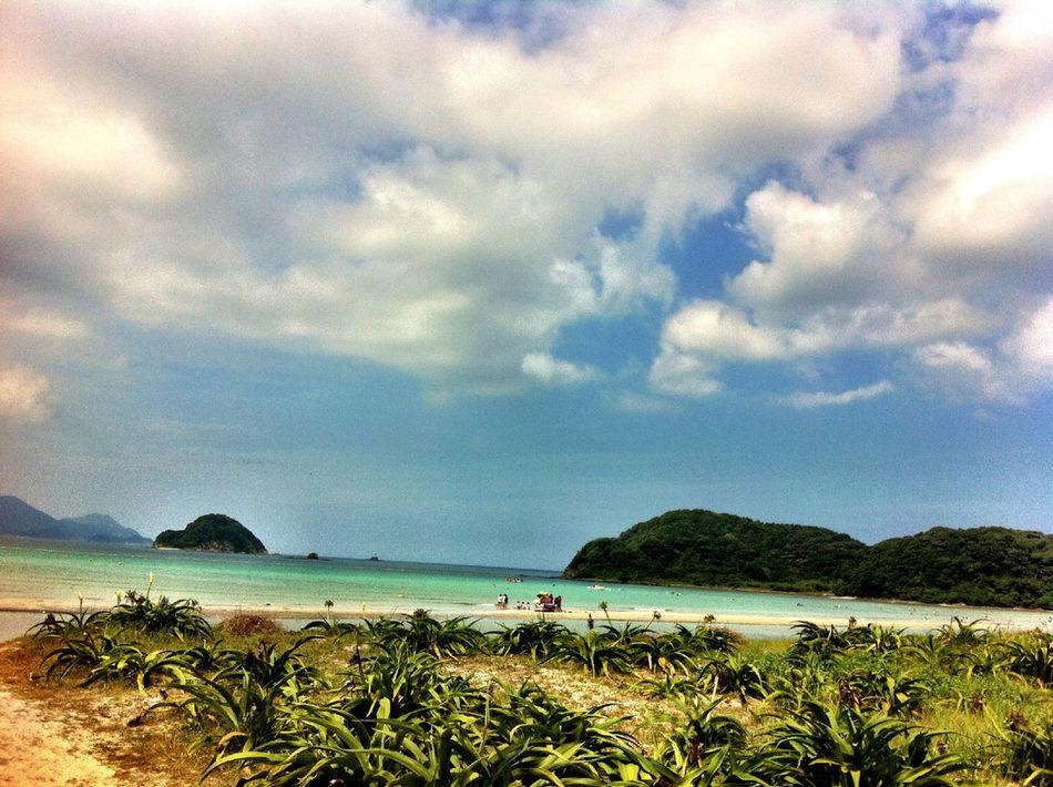 Beach Summer Sunny Day Goto Island Nagasaki
