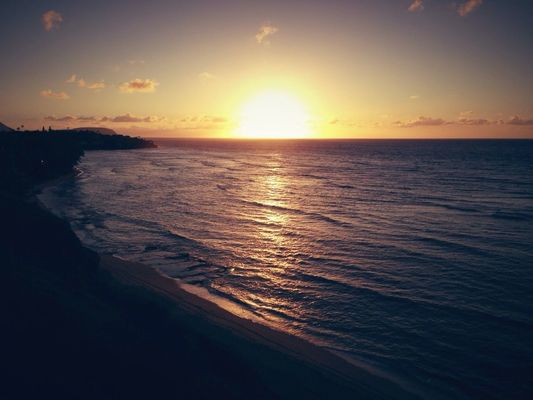 sunrise at Diamond Head by me_lv