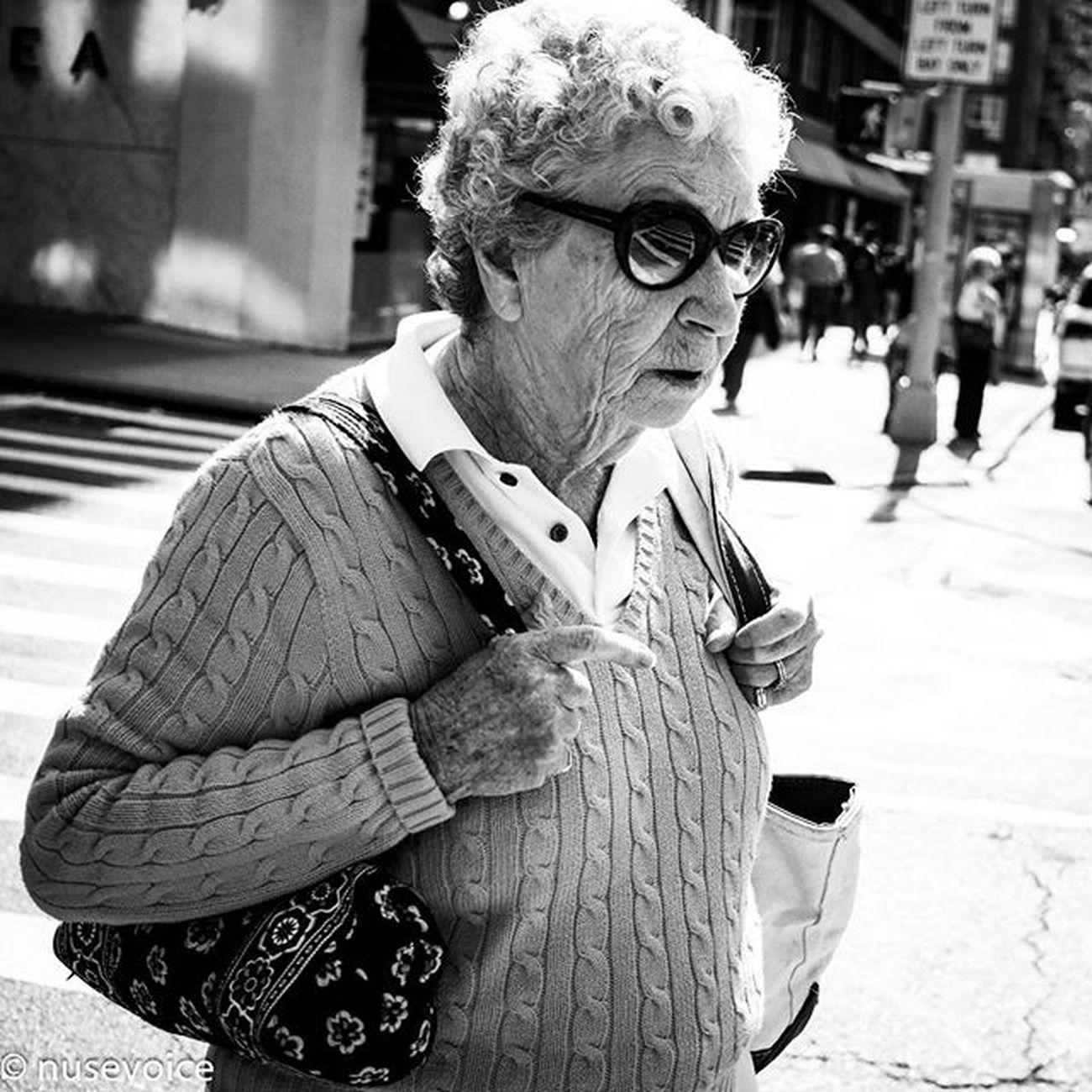 Grandma's Day Out • September 2015 Nusevoice Olympusomdem1 Zuikodigital Instagoodmyphotos instagram wsp instagoodmyphoto instagood instagrammersgallery blackandwhitephotography blackandwhite streetphotography streetphotography_bw lady woman maturelady sunshine chelseanyc downtownnyc manhattan NYC bnwlife bnw_society senior igers perfect_bnw gallery_of_bnw gallery_of_bw