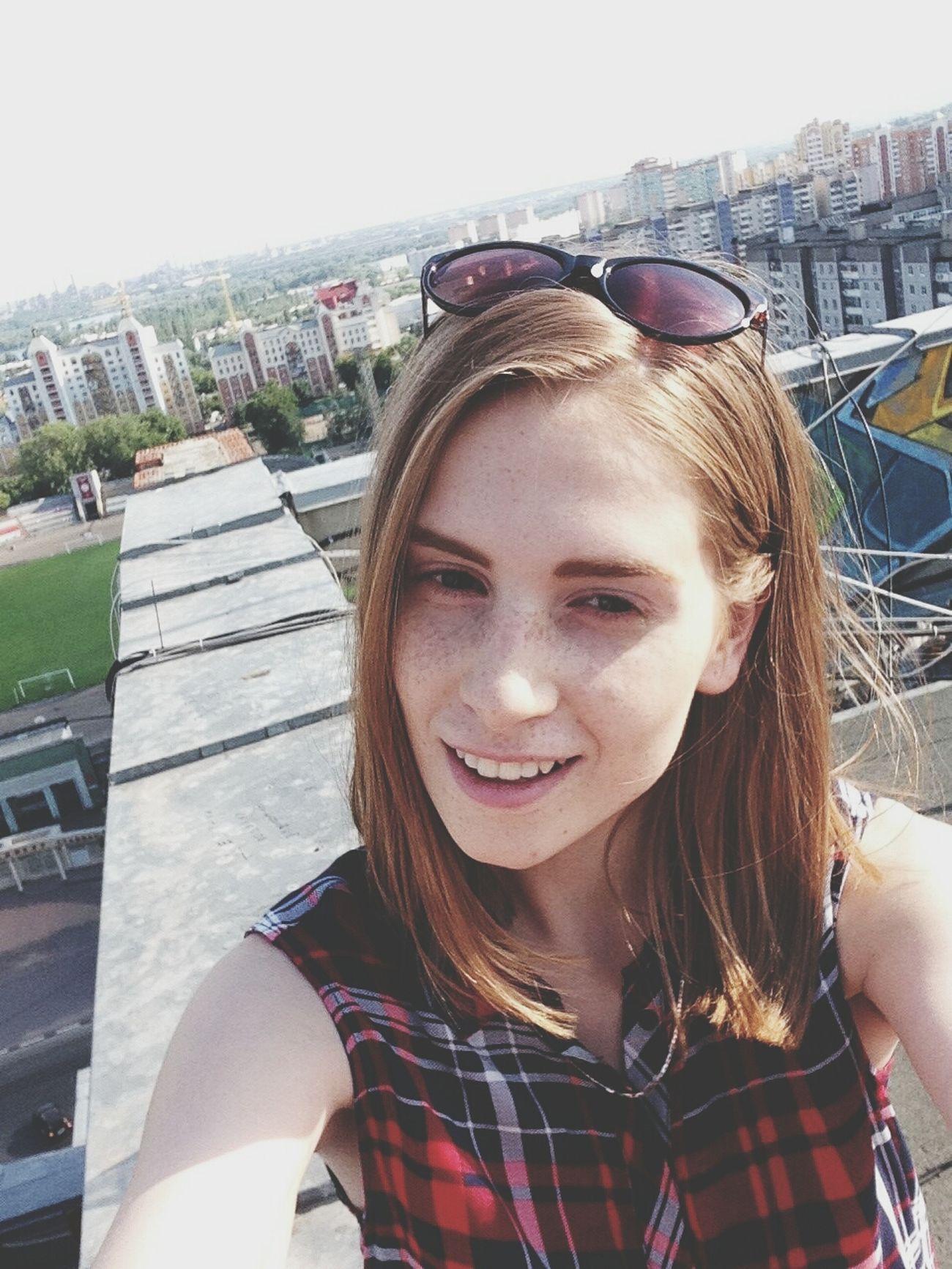 Roof.Landscape. City. Selfie ✌