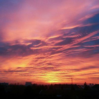Encore un lever de soleil magique ce matin... Sunrise