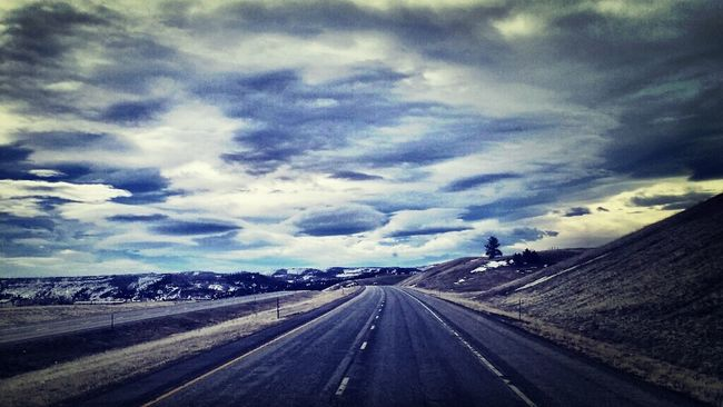 Montana Sky Porn On The Road Traveling