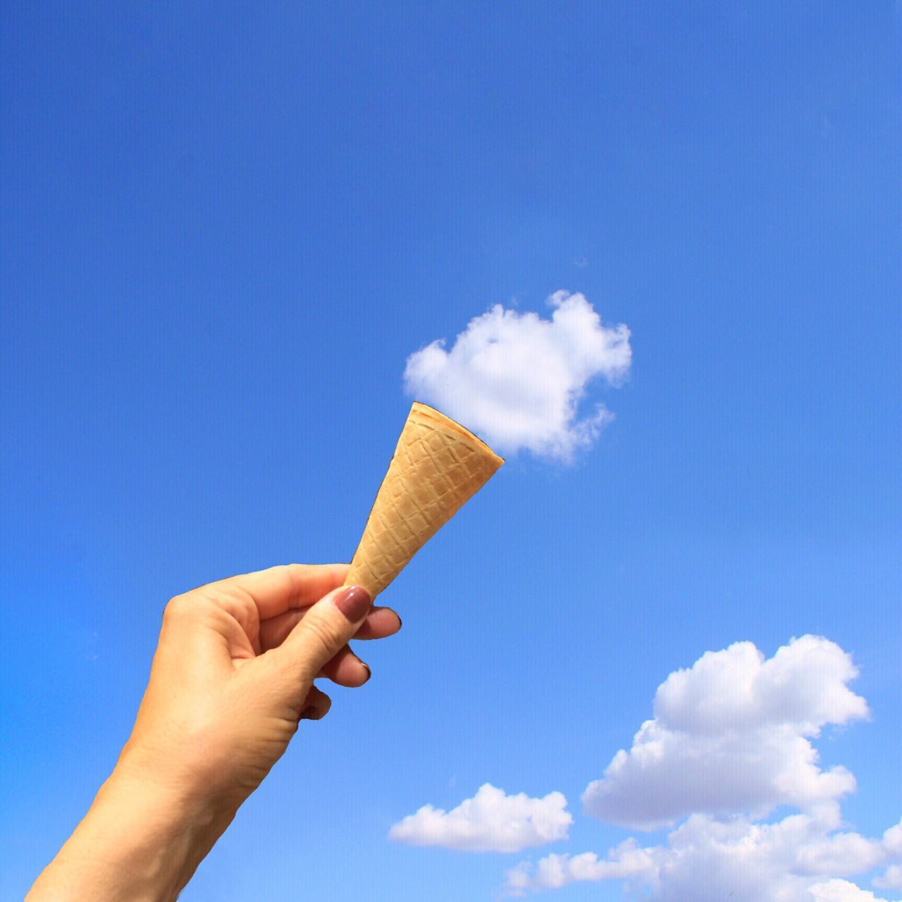 Beautiful stock photos of ice cream, Blue, Cloud - Sky, Day, Dessert