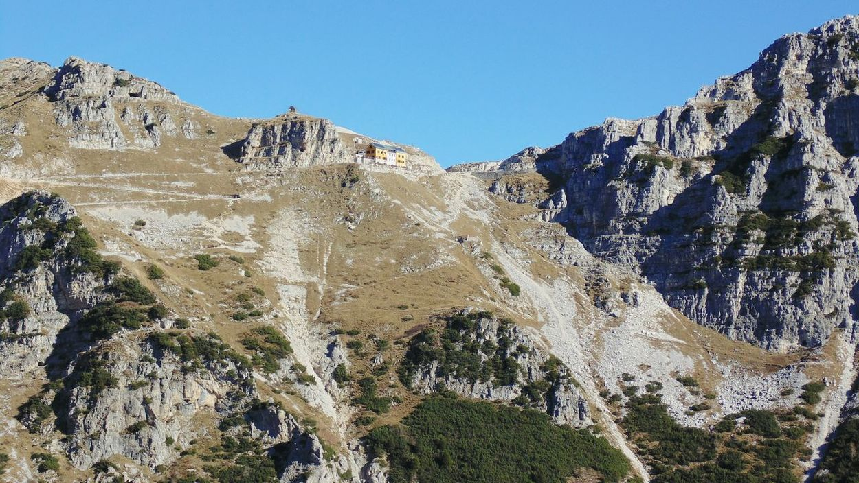 Trentino  Pasubio Mountain Hiking Panorama Grande Guerra