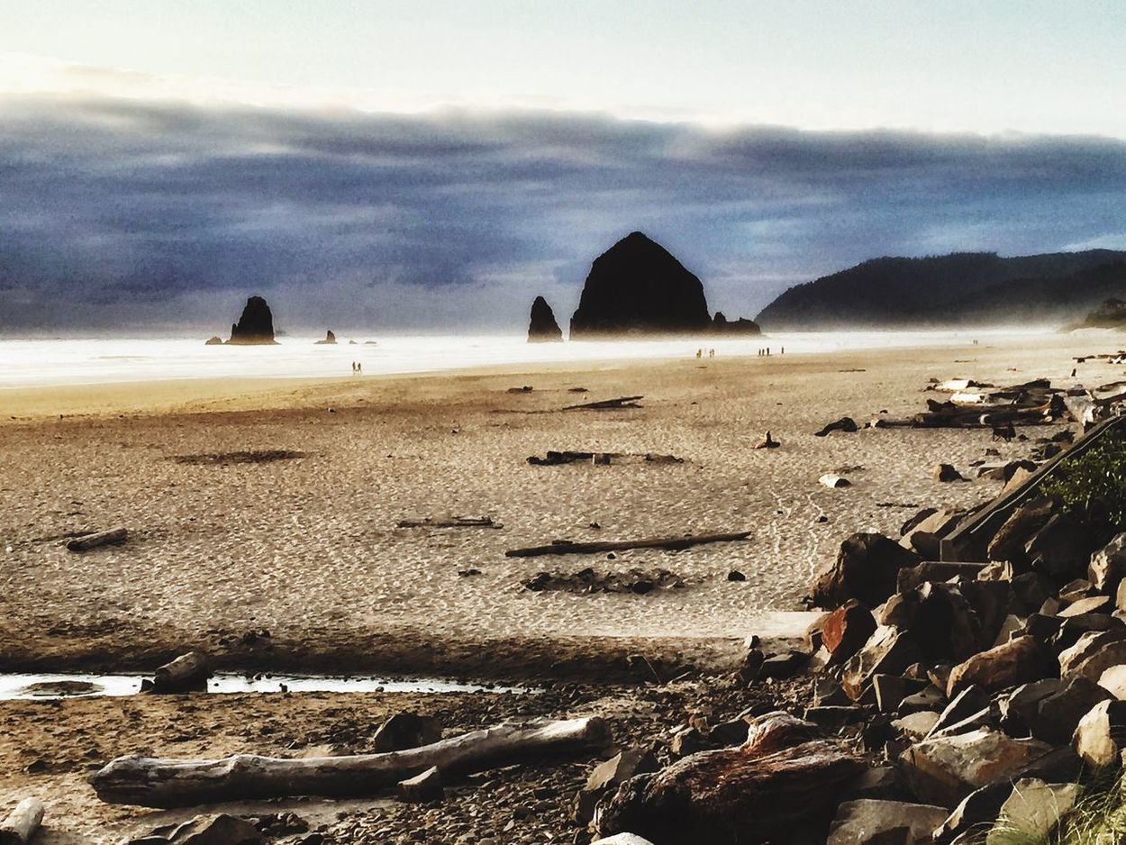 Haystack Rock Landscape Ocean View