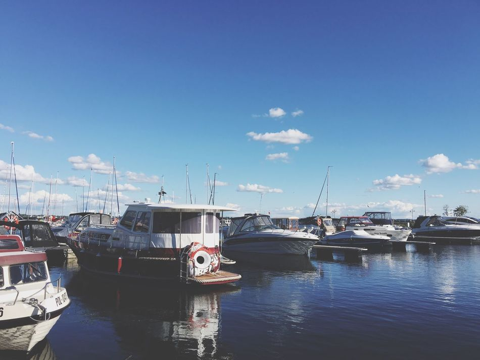 Giżycko city :) Summer Port EyeEm Best Shots Sky