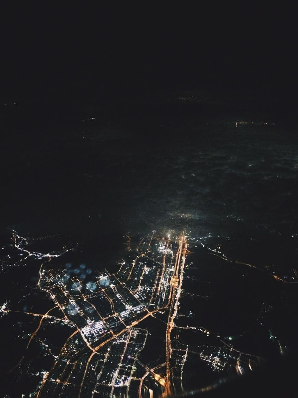 Beautiful stock photos of space, Aerial View, Copy Space, Dark, Human Settlement