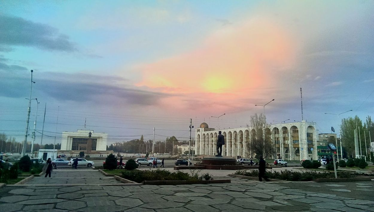 Bishkek Twilight Sky Walking Around Taking Photos Skyporn Twilight Autumn Colors Autumn 2015 Sky