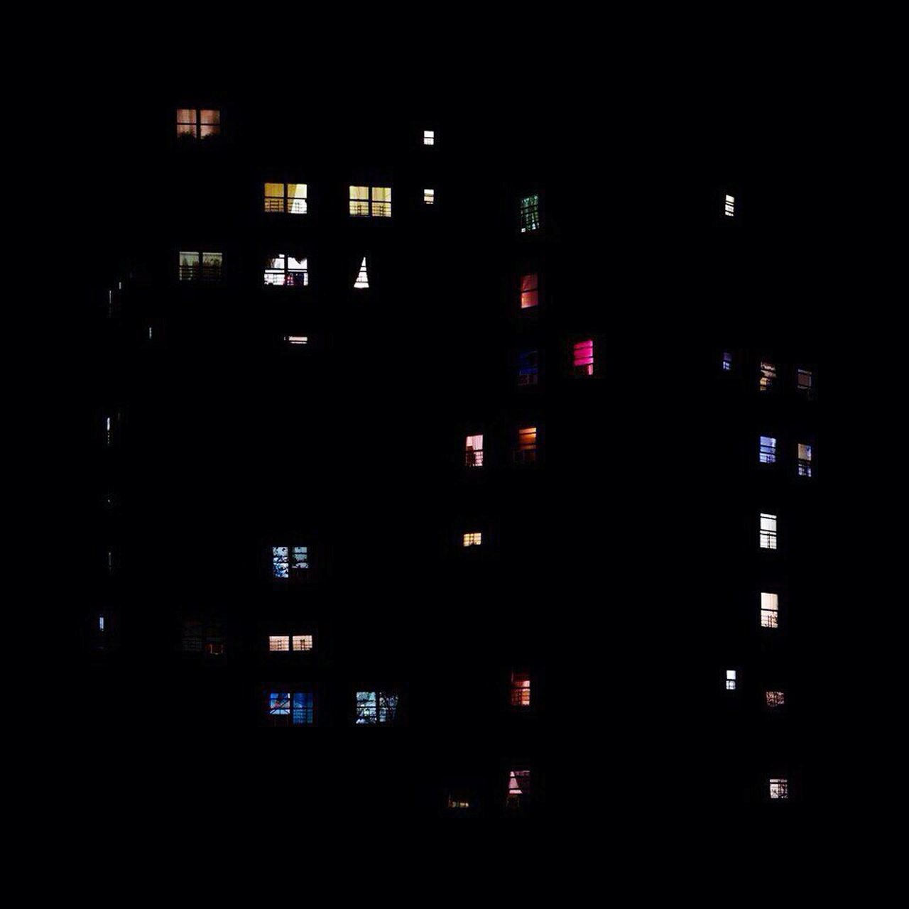 night, illuminated, dark, no people, city, built structure, building exterior, architecture, multi colored, neon, outdoors, close-up