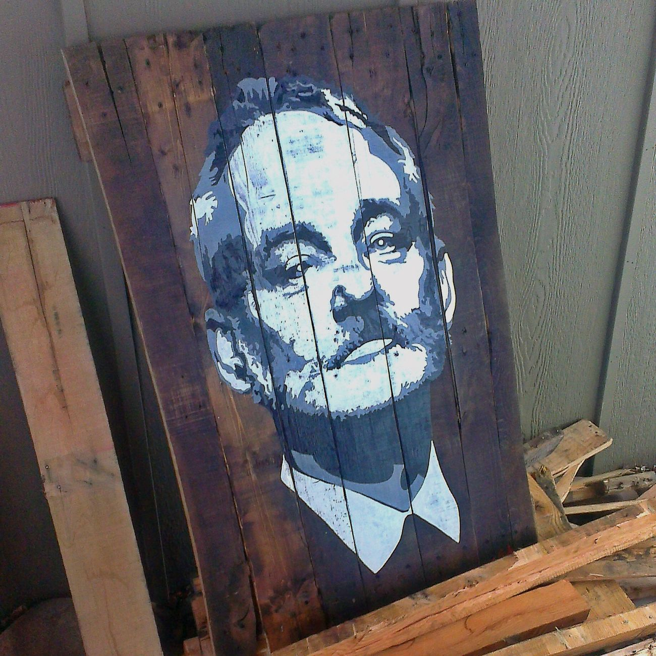 Billmurray BFM Thechive Painting