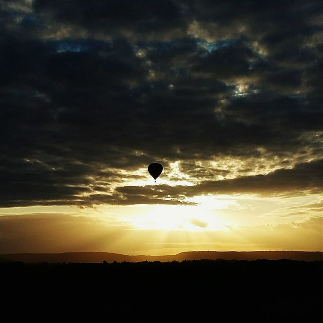 Evening flight Open Edit Sunset_collection EyeEm Best Shots EyeEm Gallery Contrast Hot Air Ballooning From My Point Of View Hello World Check This Out Sky Porn